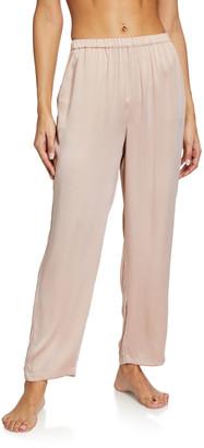Skin Tawny Silk Stretch Lounge Pants