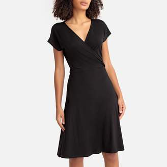 La Redoute Collections Wrapover Jersey Dress