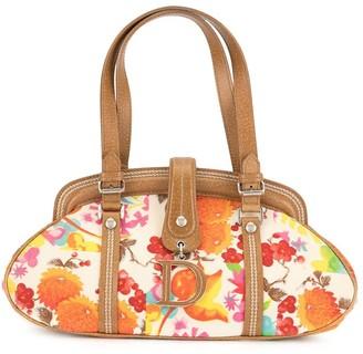 Christian Dior Pre-Owned Flower Print Handbag