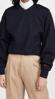 Victoria Victoria Beckham Ponte Jersey Sweatshirt