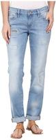 Mavi Jeans Emma Slim Boyfriend in Rip and Repair Vintage