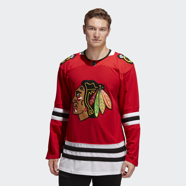 adidas Chicago Blackhawks Home Authentic Pro Jersey Red 4XL (60 ...