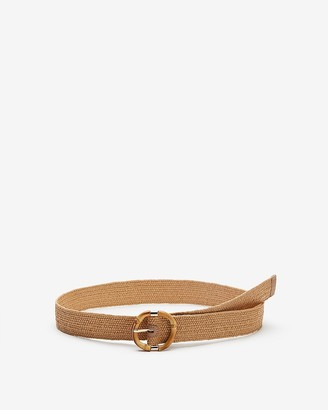 Express Bamboo Buckle Stretch Belt