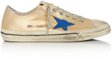 Golden Goose Deluxe Brand V-star low-top canvas trainers