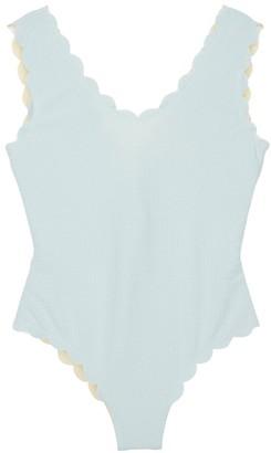 Marysia Swim V-neck Maillot One Piece Swimsuit