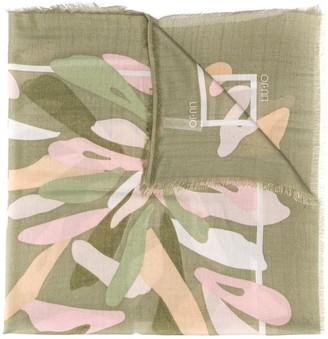 Liu Jo metallic threaded scarf