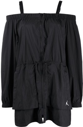 Jordan Utility off-shoulder jacket