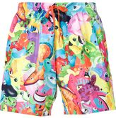 Moschino animal print swim shorts - men - Polyester - 46