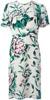 Burberry floral print dress - women - Silk/Polyester - 8