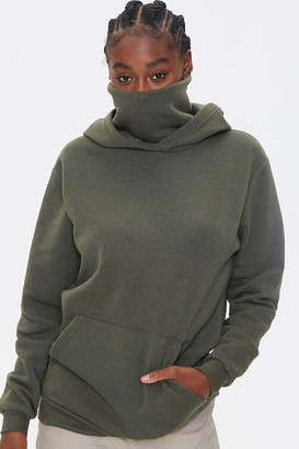 Forever 21 Face Mask Hoodie