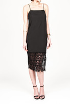 Donna Mizani Crochet Slip In Black