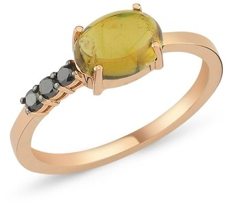 Black Diamond Selda Jewellery Tourmaline Ring With