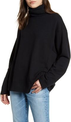 AG Jeans Haven Mock Neck Sweatshirt