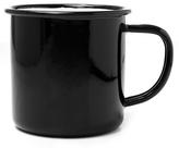 Falcon Black Enamel Mug