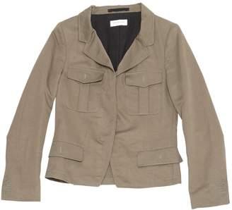 Dries Van Noten Khaki Linen Jackets