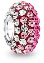 Bling Jewelry Sterling Silver Gradient Light Magenta Crystal Bead Fits Pandora