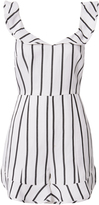 Exclusive for Intermix Rachel Striped Flutter Romper