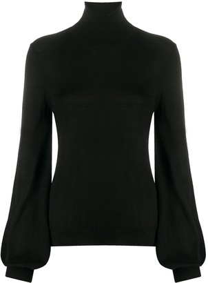 P.A.R.O.S.H. Bell Sleeve Fine Knit Jumper