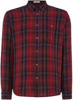 Wrangler Men's Regular fit button down check shirt