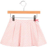 Tartine et Chocolat Girls' Patterned Pleated Skirt w/ Tags