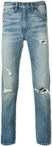 Levi's slim-fit ripped jeans