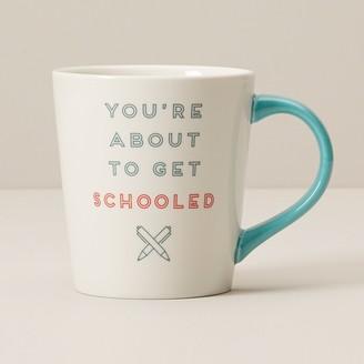 Indigo You're About To Be Schooled Mug