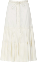 Brock Collection Solange Cotton Silk Skirt