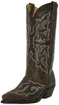 Laredo Western Boot Women Leather Runaway 7.5 W Gaucho Nutty Mule 5404