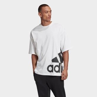 adidas Men's Big Badge of Sport Boxy T-Shirt