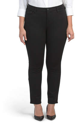 Plus Ponte Sheri Slim Pants