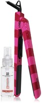 Brilliance New York 2-Piece Straight & Revived Hair Set - 1.25 Pink Ceramic Flat Iron & Argan Oil Serum
