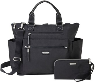 Baggallini 3-in-1 Convertible Backpack with RFID Wristlet