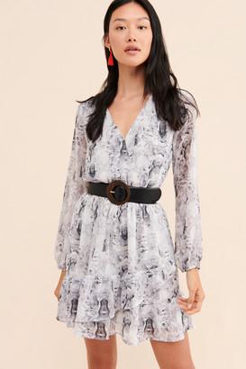 19 Cooper Python Print Mini Dress