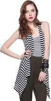 Striped Knit Vest