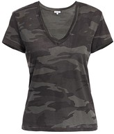 Splendid Kate V-Neck Camo T-Shirt