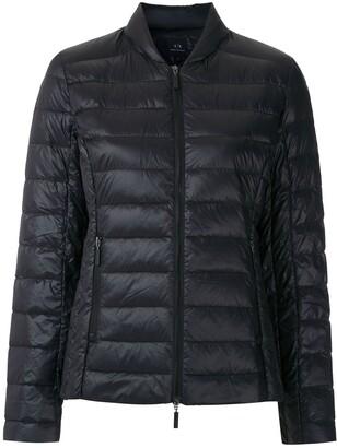 Armani Exchange Zipped Padded Jacket