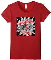 Women's Fun Having A Blast Exploding Star Novelty T-Shirt Medium
