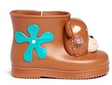 Melissa x Jeremy Scott 'Monkey' inflation appliqué toddler boots