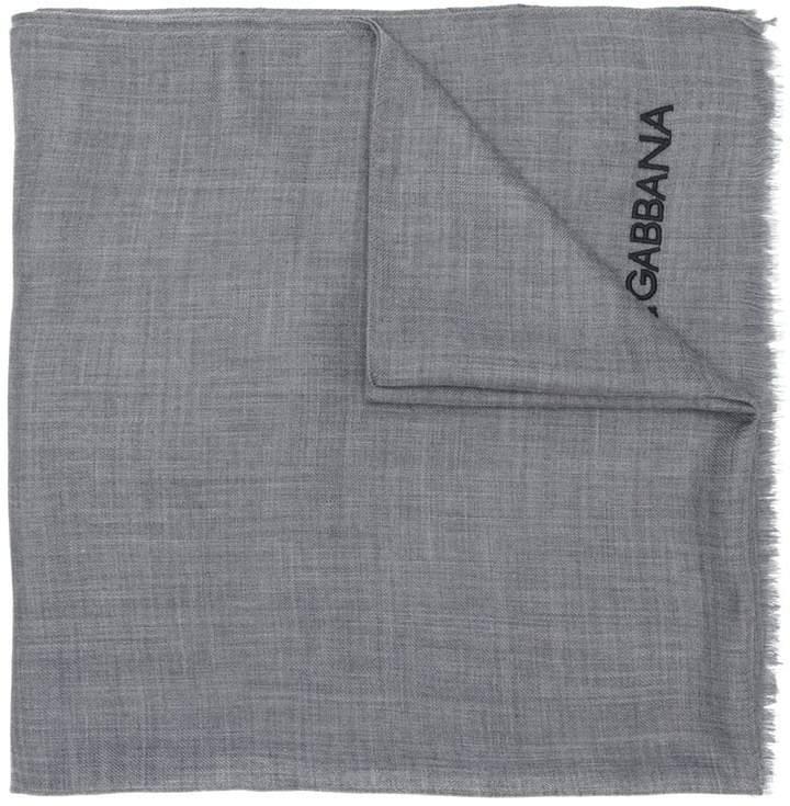 Dolce & Gabbana logo scarf