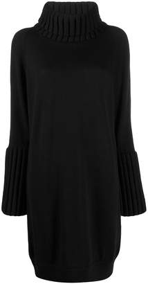 MM6 MAISON MARGIELA turtleneck knitted dress