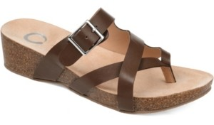 Journee Collection Women's Madrid Wedge Sandal Women's Shoes