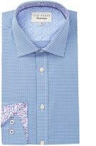 Ted Baker Abasing Trim Fit Dress Shirt