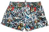 DSQUARED2 Tattoo Printed Nylon Boxer Shorts