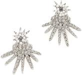 Oscar de la Renta Celestial Star Back Drop Earrings