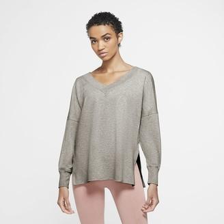 Nike Women's Fleece Cover Up Yoga
