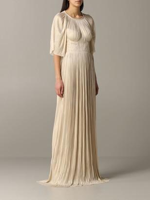 Maria Lucia Hohan Long Dress With Cape