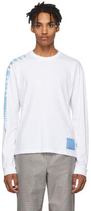 Kenzo White Extra Fancy Long Sleeve T-Shirt