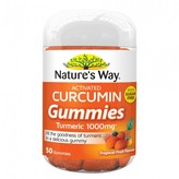 Nature's Way Activated Curcumin Gummies - Tropical Flavoured 50 gummies