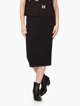 Michael Kors Solid Rib Skirt