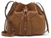 Vince Camuto Fargo – Chevron-paneled Drawstring Bag